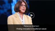 TedMed Rebecca Adamson - GlobalLeadership.TV